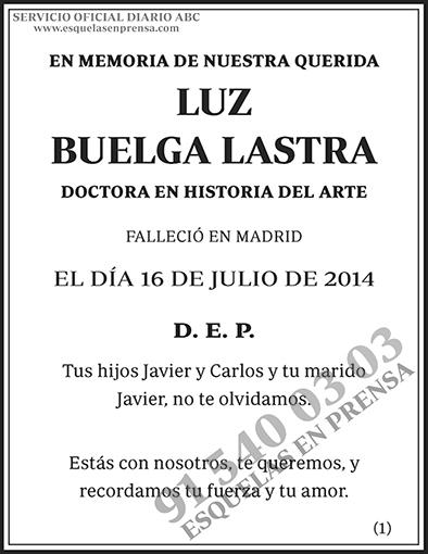 Luz Buelga Lastra